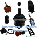 Interruptores / joysticks y accesories